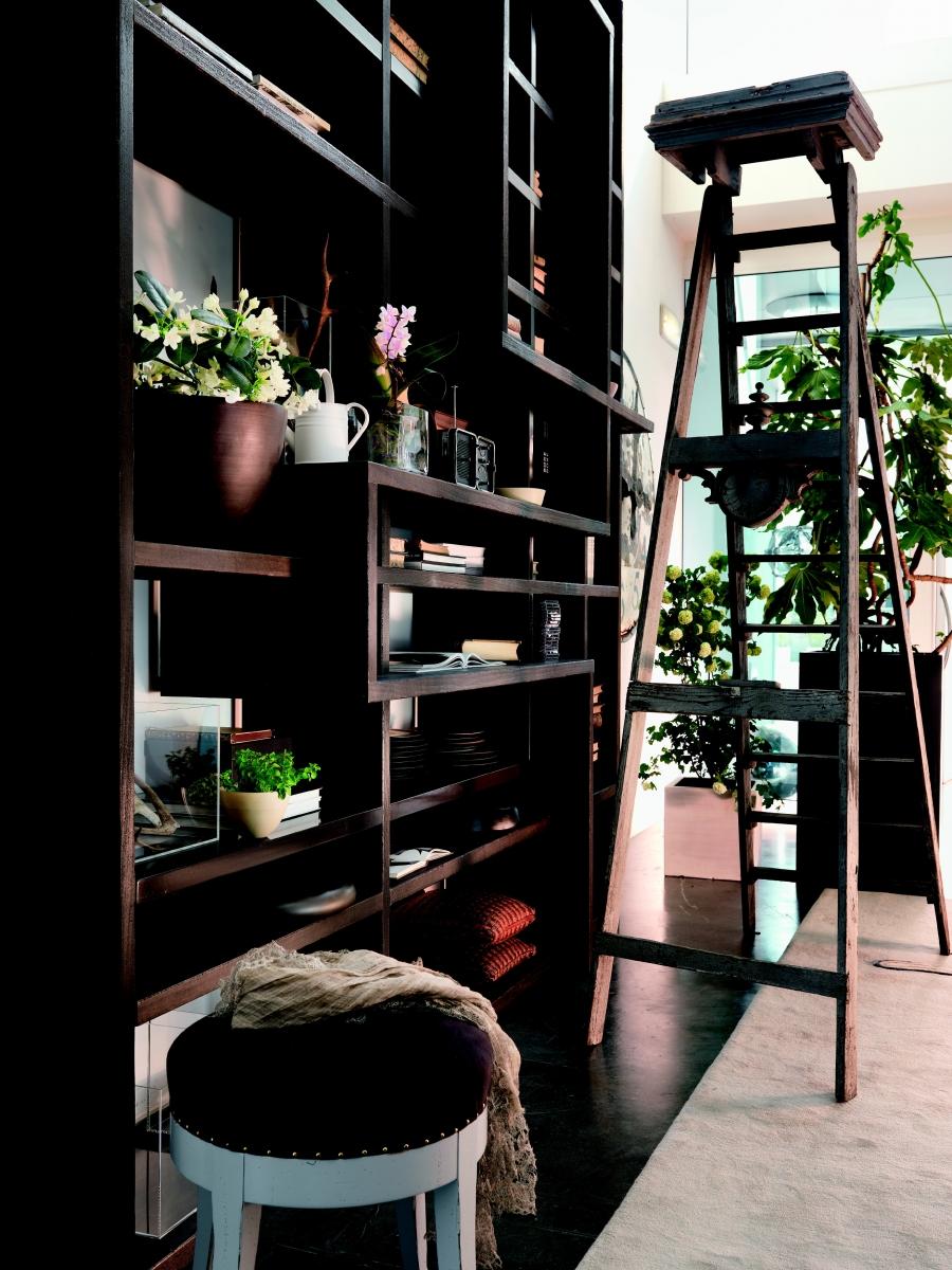 Arredamento librerie moderne arredamenti su misura a for Arredamento per librerie